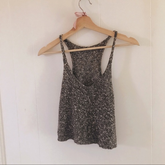 Knitted summer camisole